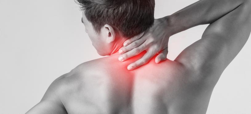 Neck pain banner